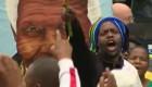 África llora y baila por Mandela
