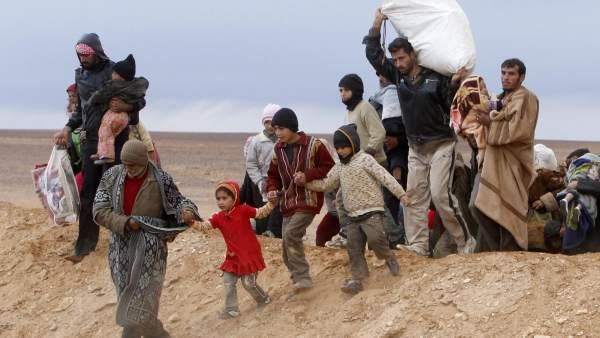 Mil días de guerra en Siria