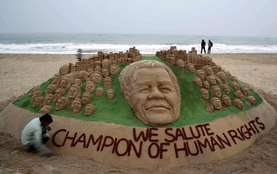 Homenaje a Mandela