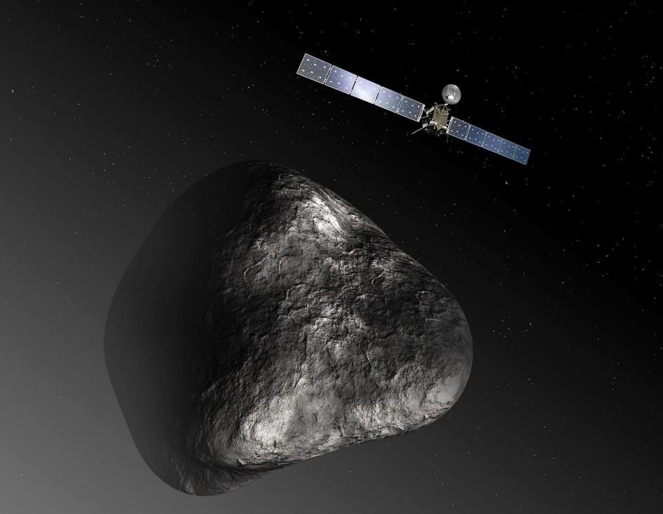 La ESA intentará el primer aterrizaje en un cometa