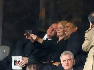 La polémica 'selfie' de Obama