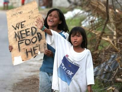 Filipinas tras el paso del tifón Haiyan