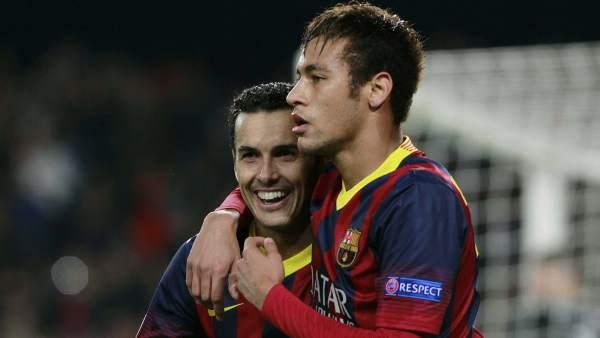 Neymar y Pedro