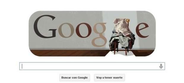 Google rinde homenaje a Antoni Tàpies con un nuevo 'doodle'
