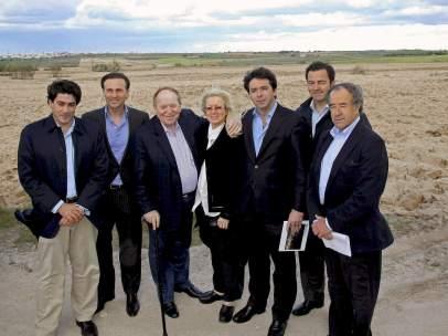 Sheldon Adelson, en Alcorcón