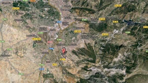 Gójar, en la provincia de Granada