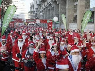 La Carrera de Papá Noel en Madrid