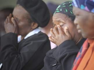 El pueblo llora a su líder