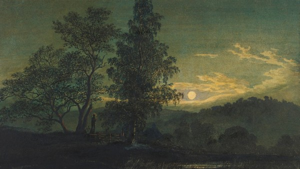 Moonlit landscape, c. 1808