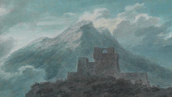 A ruined fort near Salerno,c. 1782
