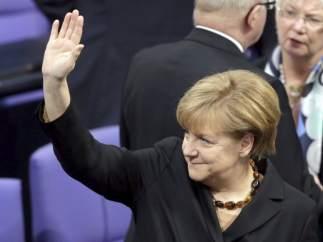 Merkel, investida como canciller