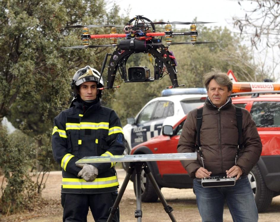 Madrid contará con drones para atender emergencias