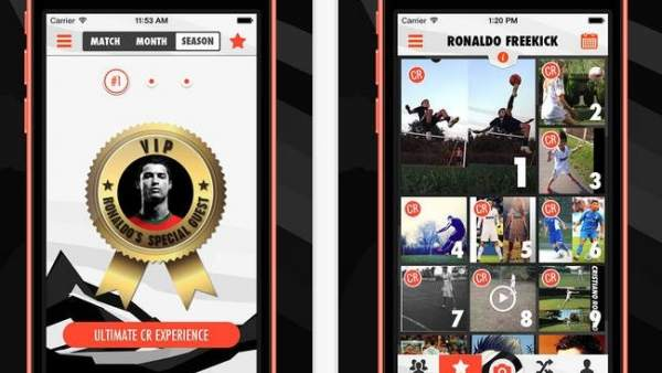 Cristiano Ronaldo saca su propia aplicación para móviles