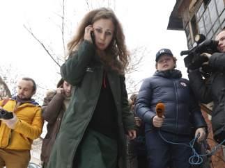 María Aliójina, miembro de las Pussy Riot