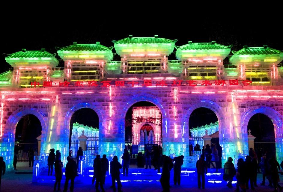 2.000 esculturas de hielo