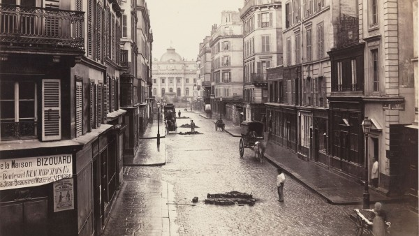 Rue de Constantine (fourth arrondissement) 1866