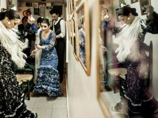 Karime Amaya en el Tablao Flamenco Cordobés