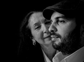 'La Tani' y su hijo Eduardo Cortés