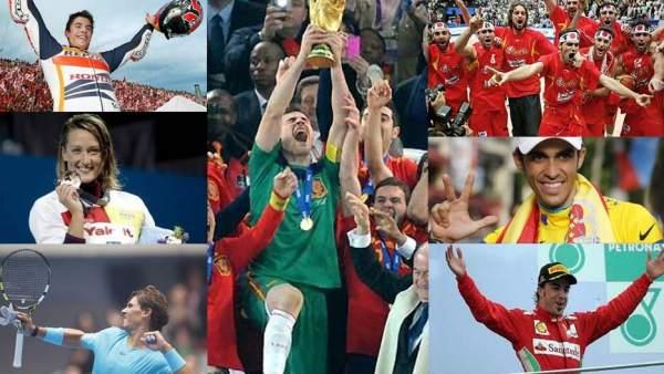 Grandes deportistas españoles
