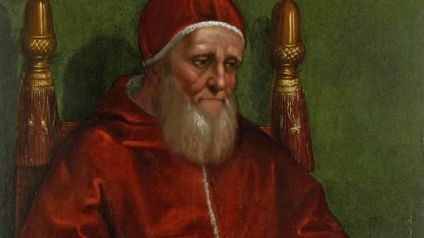 'Portrait of Pope Julius II', 1511/12