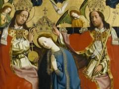 'The Coronation of the Virgin', c. 1445