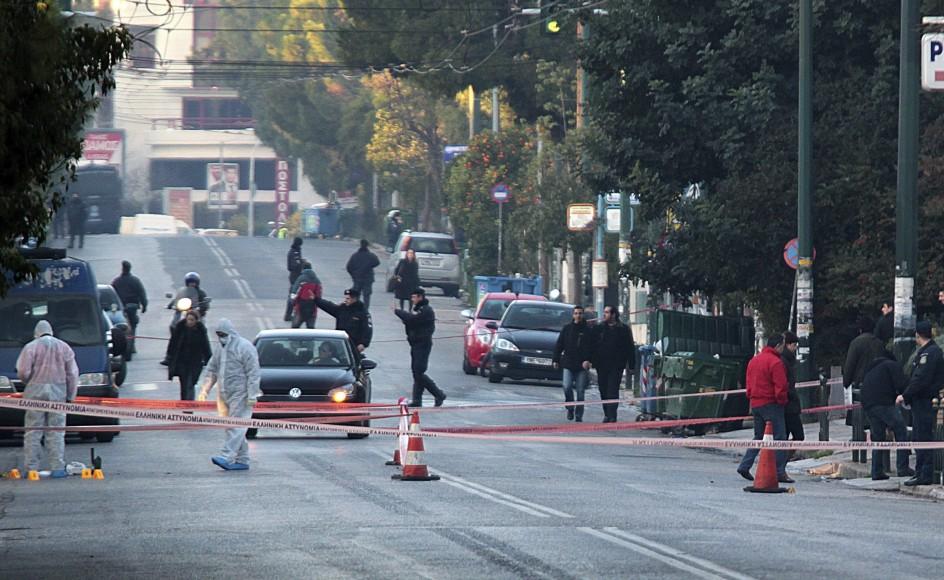 Disparos ante la residencia del embajador alemán en Grecia
