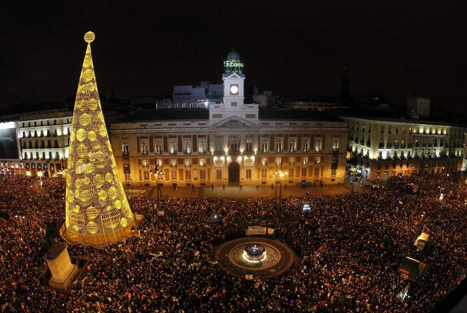 Madrid despide al año 2013