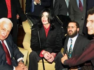 Junto a Michael Jackson y Uri Geller