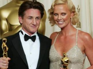 Sean Penn y Charlize Theron