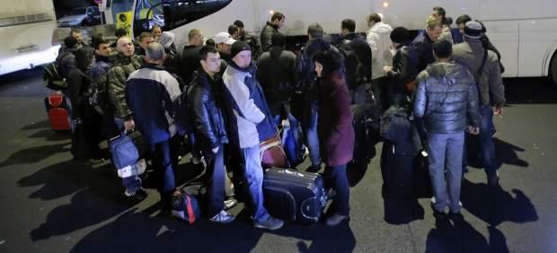 Rumanos que emigran a Bélgica