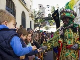 Los Reyes Magos, en Málaga