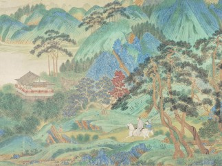 Saying Farewell at Xunyang (detail). 1st half of 16th century