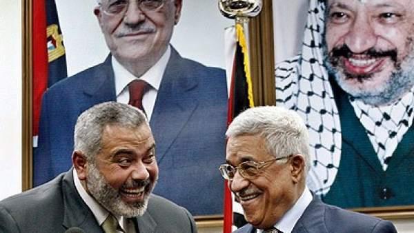 Abbas y Haniyeh