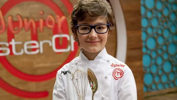 Mario, ganador de MasterChef Junior
