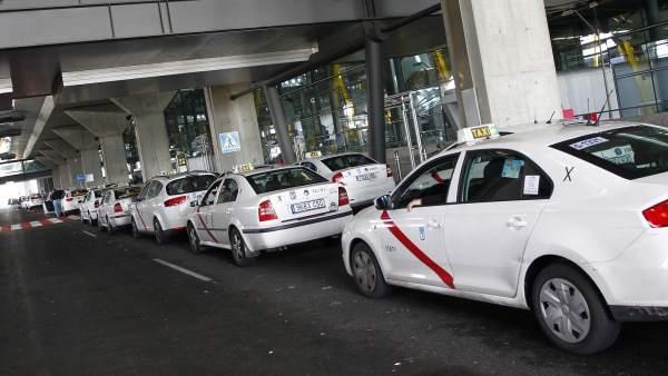 Taxis en Barajas