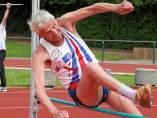 Emiel Pauwels, el atléta más anciano de Bélgica