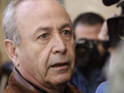 José Castro, a su llegada al juzgado