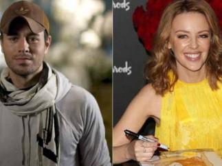 Enrique Iglesias y Kylie Minogue