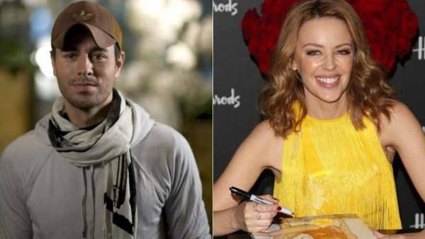 Enrique Iglesias hará un dueto junto a Kylie Minogue en su próximo disco