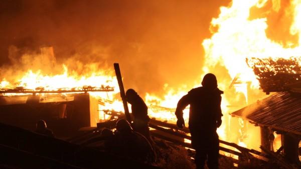 Incendio en el Tíbet