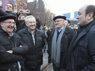 Protesta en Bilbao