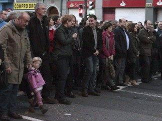 Manifestación convocada por EH Bildu