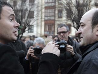 Hasier Arraiz y Andoni Ortuzar