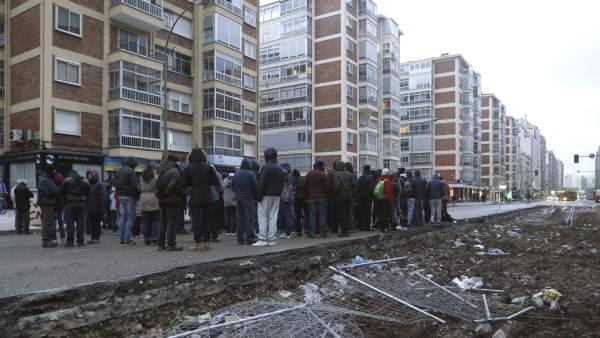 Protestas en Burgos