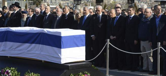 Funeral del ex primer ministro israelí Ariel Sharon