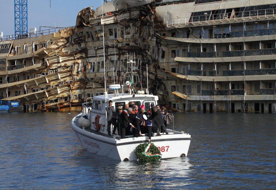 Segundo aniversario del naufragio del Costa Concordia