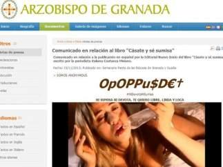 Anonymous, contra el arzobispo de Granada