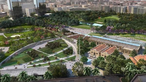 La venda de sòl només cobrirà un 15% del cost desoterrarles vies a València