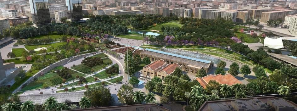 Licitan las obras del parque central que arrancar n a for America todo un inmenso jardin