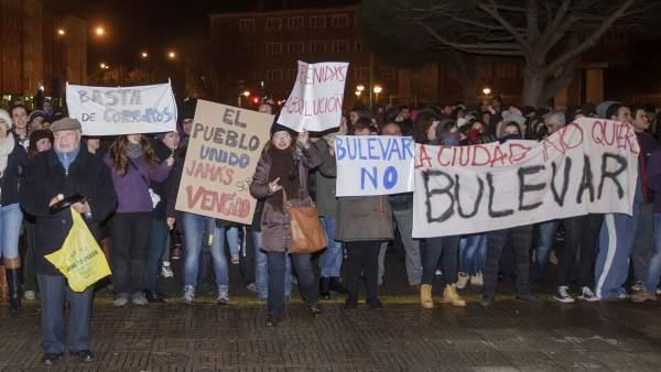 Protestas vecinales en Gamonal, Burgos